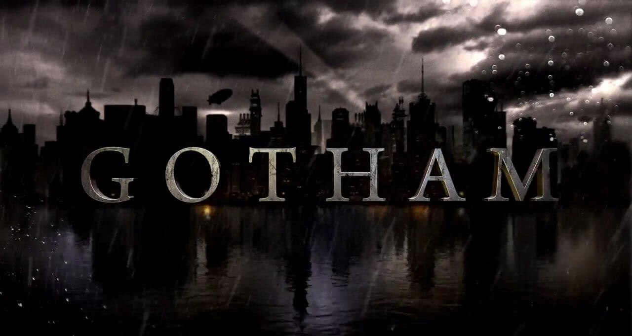 Gotham tv show batman laser time 1