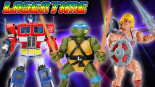 Laser Time – He-Man, Ninja Turtle or Transformer?