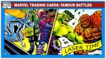 Marvel Trading Cards – Famous Battles