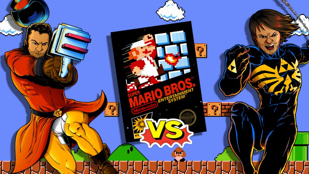 super-mario-bros-brett-vs-chris-laser-time